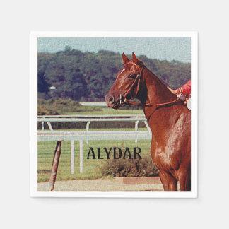 Alydar Belmont Stakes 1978 Disposable Napkins