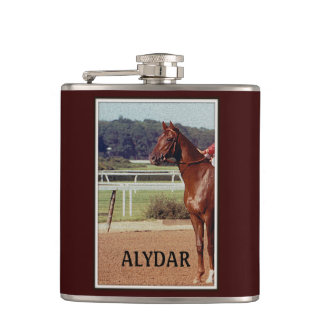 Alydar Belmont Stakes 1978 Hip Flasks