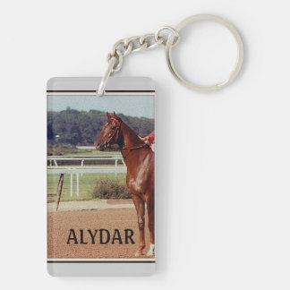Alydar Belmont Stakes 1978 Rectangular Acrylic Key Chain