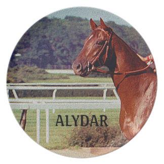 Alydar Belmont Stakes 1978 Plate