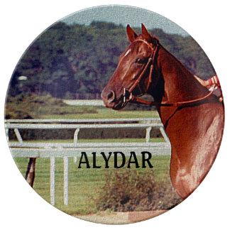 Alydar Belmont Stakes 1978 Porcelain Plates