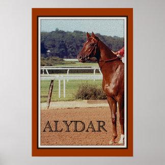 Alydar Belmont Stakes 1978 Poster