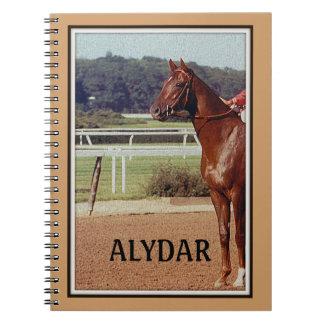 Alydar Belmont Stakes 1978 Spiral Note Book