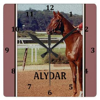 Alydar Belmont Stakes 1978 Square Wallclocks