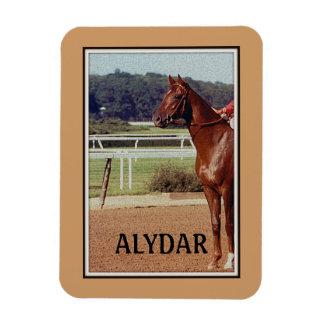 Alydar Belmont Stakes 1978 Vinyl Magnet
