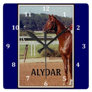Alydar Belmont Stakes 1978 Wallclocks