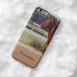 Alydar Belmont Stakes Post Parade 1978 Barely There iPhone 6 Case