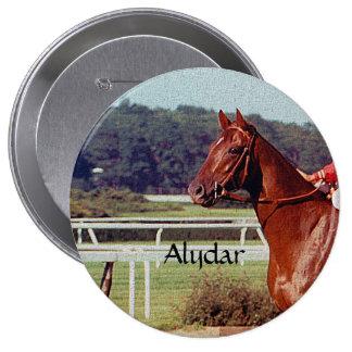 Alydar Belmont Stakes Post Parade 1978 4 Inch Round Button