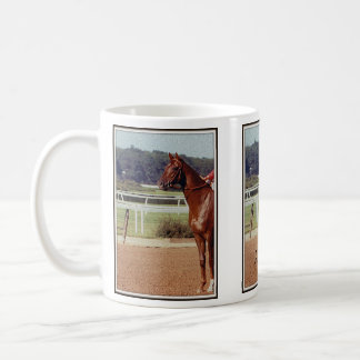 Alydar Belmont Stakes Post Parade 1978 Coffee Mug