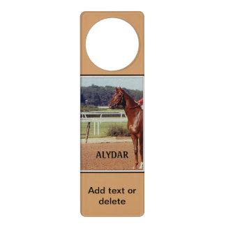 Alydar Belmont Stakes Post Parade 1978 Door Hanger
