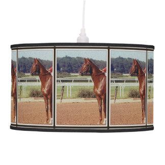 Alydar Belmont Stakes Post Parade 1978 Hanging Lamp
