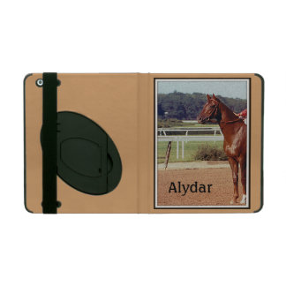 Alydar Belmont Stakes Post Parade 1978 iPad Cover