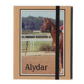 Alydar Belmont Stakes Post Parade 1978 iPad Folio Case