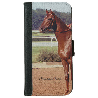 Alydar Belmont Stakes Post Parade 1978 iPhone 6/6s Wallet Case