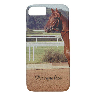 Alydar Belmont Stakes Post Parade 1978 iPhone 7 Case