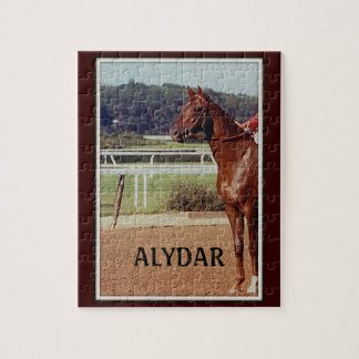 Alydar Belmont Stakes Post Parade 1978 Jigsaw Puzzle