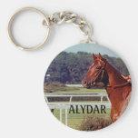 Alydar Belmont Stakes Post Parade 1978 Key Chain