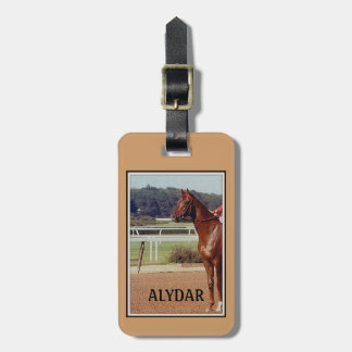 Alydar Belmont Stakes Post Parade 1978 Luggage Tag