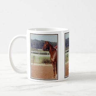 Alydar Belmont Stakes Post Parade 1978 Mug