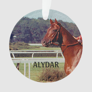 Alydar Belmont Stakes Post Parade 1978 Ornament