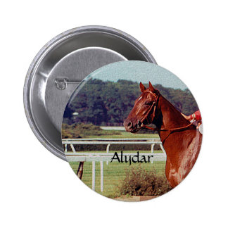 Alydar Belmont Stakes Post Parade 1978 Pinback Button