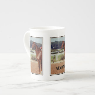 Alydar Belmont Stakes Post Parade 1978 Tea Cup
