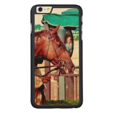 Alydar Thoroughbred 1979 Carved® Maple iPhone 6 Plus Case