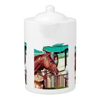 Alydar Thoroughbred 1979 Teapot