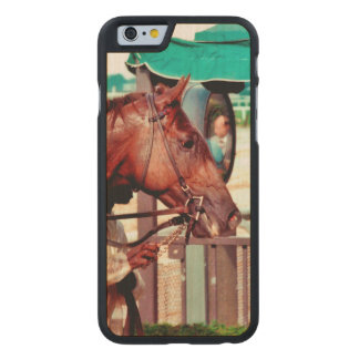 Alydar Thoroughbred 1979 Carved® Maple iPhone 6 Case