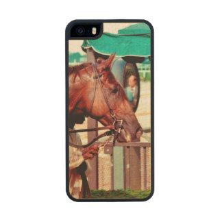 Alydar Thoroughbred 1979 Carved® Maple iPhone 5 Slim Case