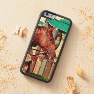 Alydar Thoroughbred 1979 Carved® Maple iPhone 6 Bumper Case