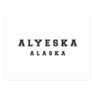 Alyeska Alaska Postcard