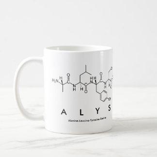Alys peptide name mug