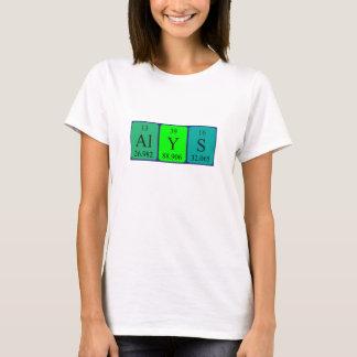 Alys periodic table name shirt