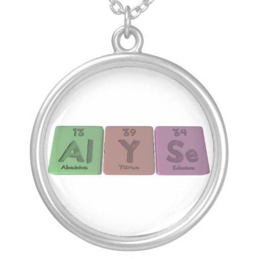 Alyse as Aluminium Necklaces