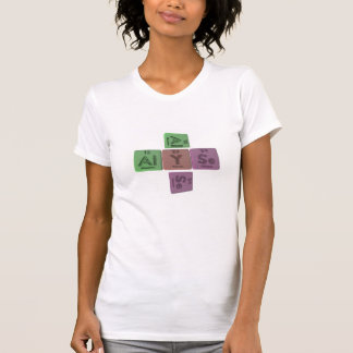 Alyse como selenio de aluminio del itrio camisetas