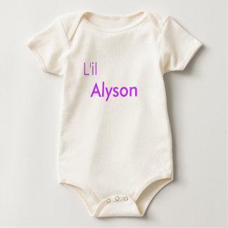 Alyson Body Para Bebé