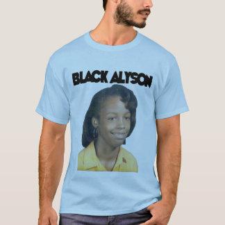 Alyson negro (colores variados) playera