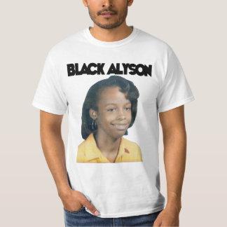 Alyson negro playera