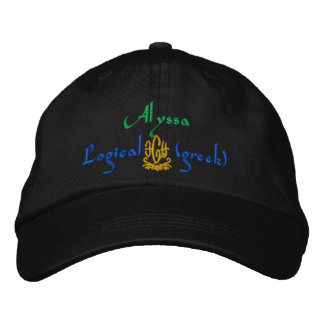 Alyssa Name With Greek Meaning Baseball Cap