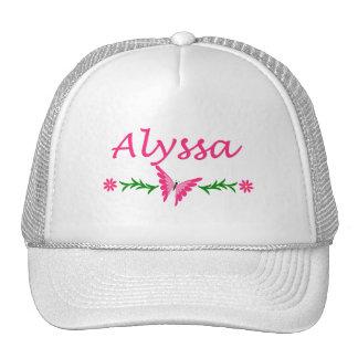 Alyssa (Pink Butterfly) Trucker Hat