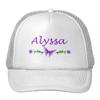 Alyssa (Purple Butterfly) Trucker Hats