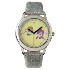 Alyssa Vs. Nafaria Wrist Watch at Zazzle