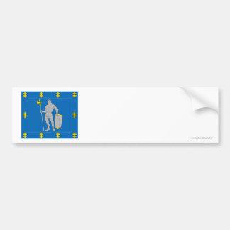 Alytus County Flag Bumper Sticker