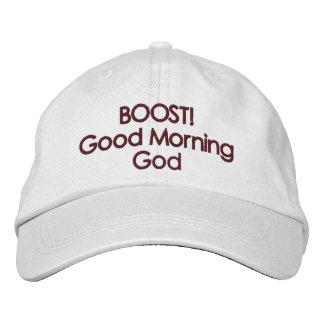 ¡ALZA! Casquillo de dios de la buena mañana Gorra Bordada