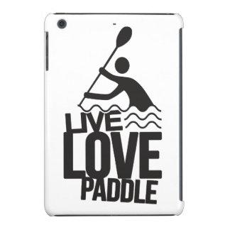 Alza viva el   del amor que camina fundas de iPad mini