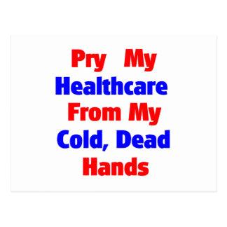 Alzaprime mi atención sanitaria de mis manos postal