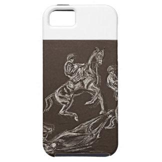 alzar dibujos del caballo por Conway iPhone 5 Carcasas