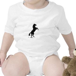Alzar el caballo traje de bebé
