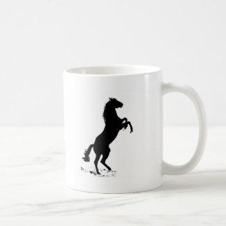 Alzar el caballo tazas